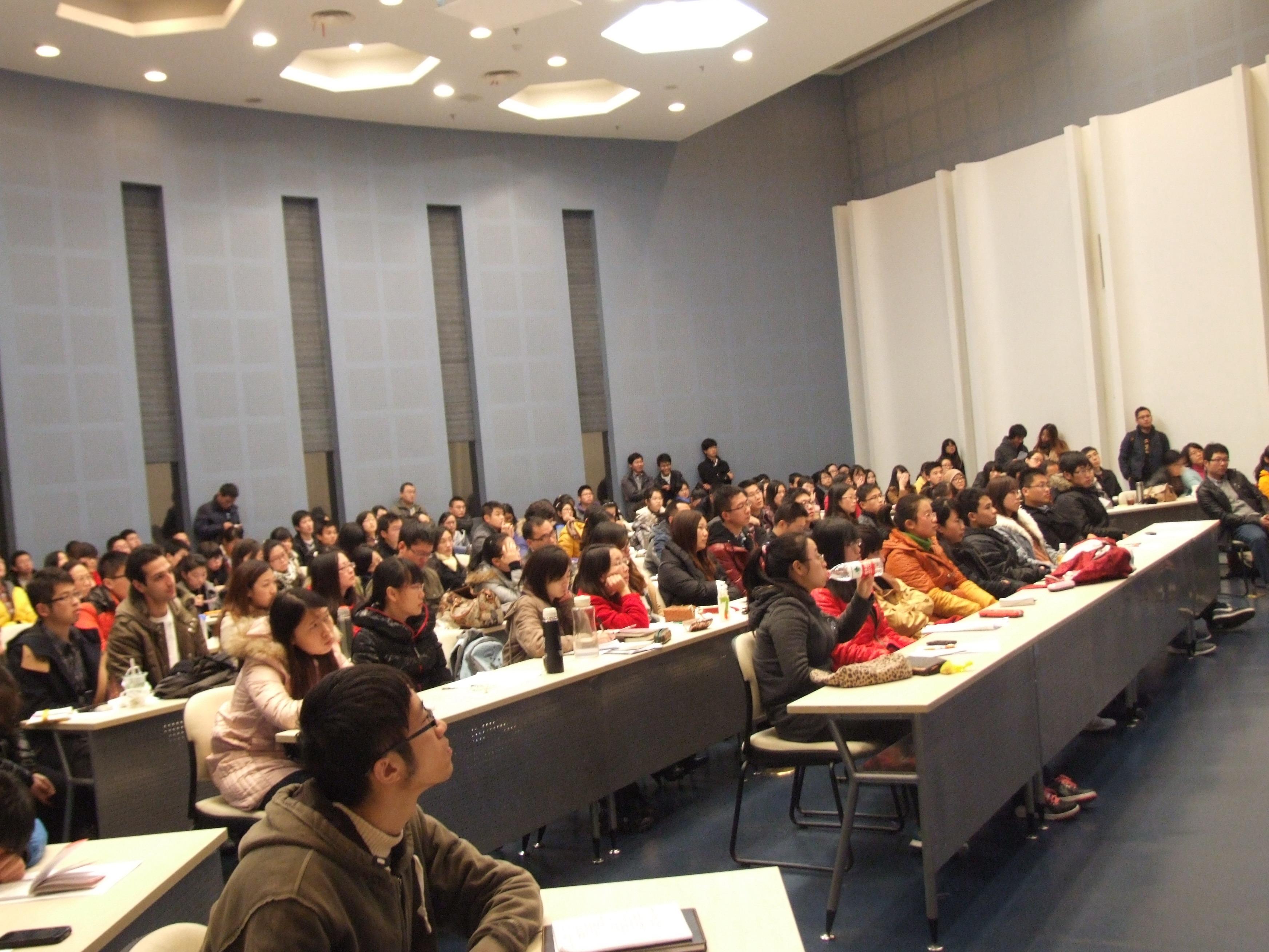 东华大学我校2013年国家公派出国留学研究生项目宣讲会顺利举办